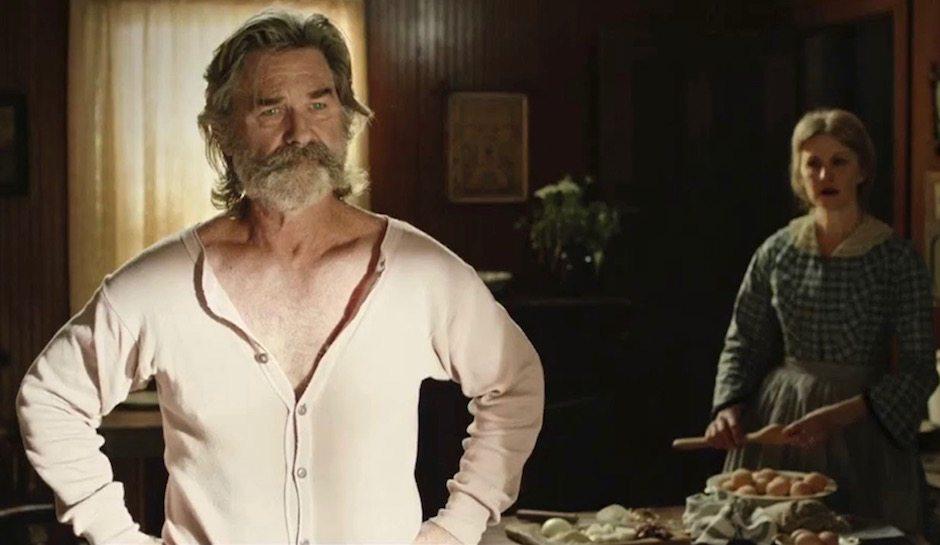 Kurt Russell i The Hateful Eight.