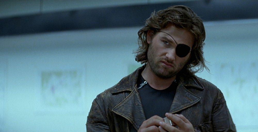 Kurt Russell i Flykten från New York.