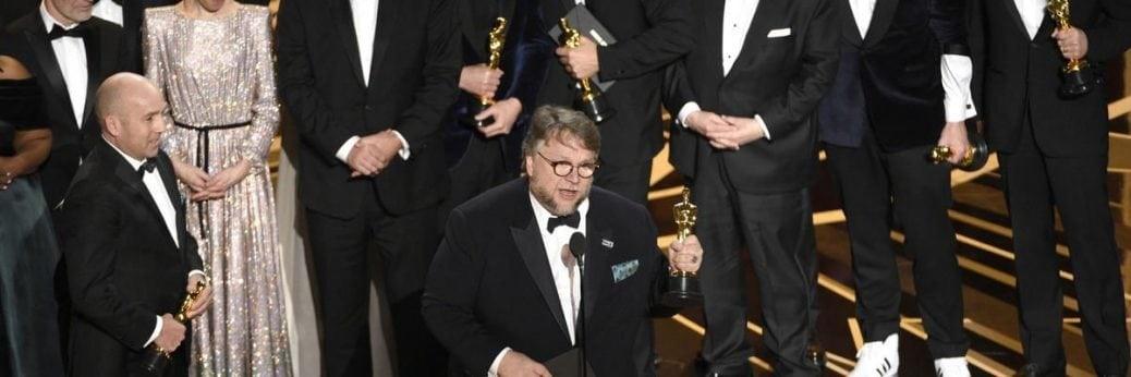 Guillermo Del Toro vann en Oscar för bästa regi för The Shape of Water, som även vann för bästa film