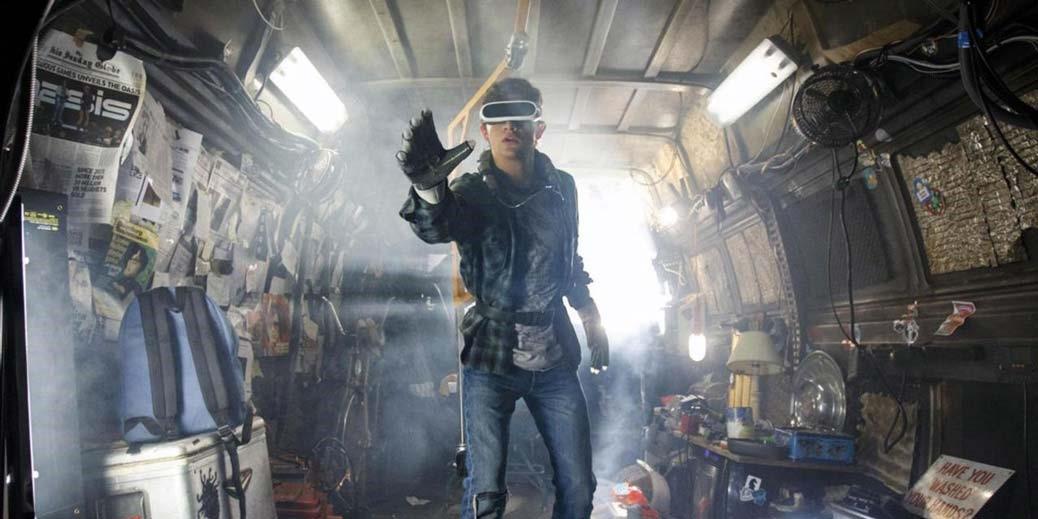 BILD: Tye Sheridan i Steven Spielbergs Ready Player One.