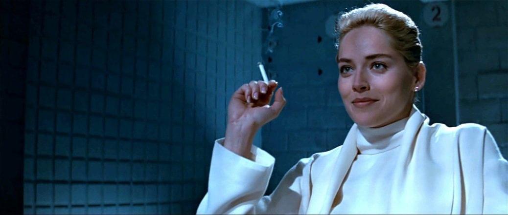 BILD: Sharon Stone i Basic Instinct.