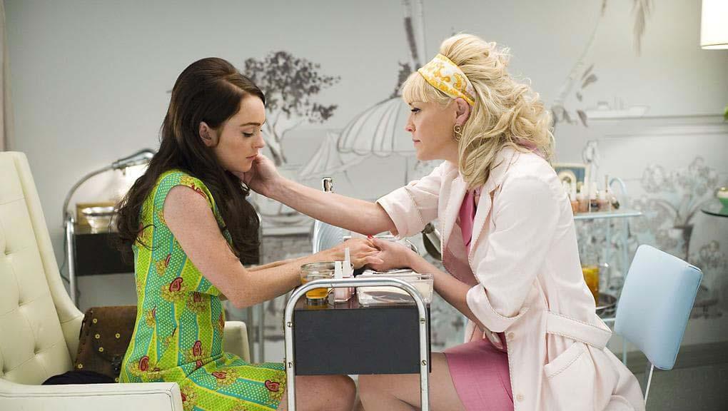 BILD: Sharon Stone och Lindsay Lohan i Bobby.
