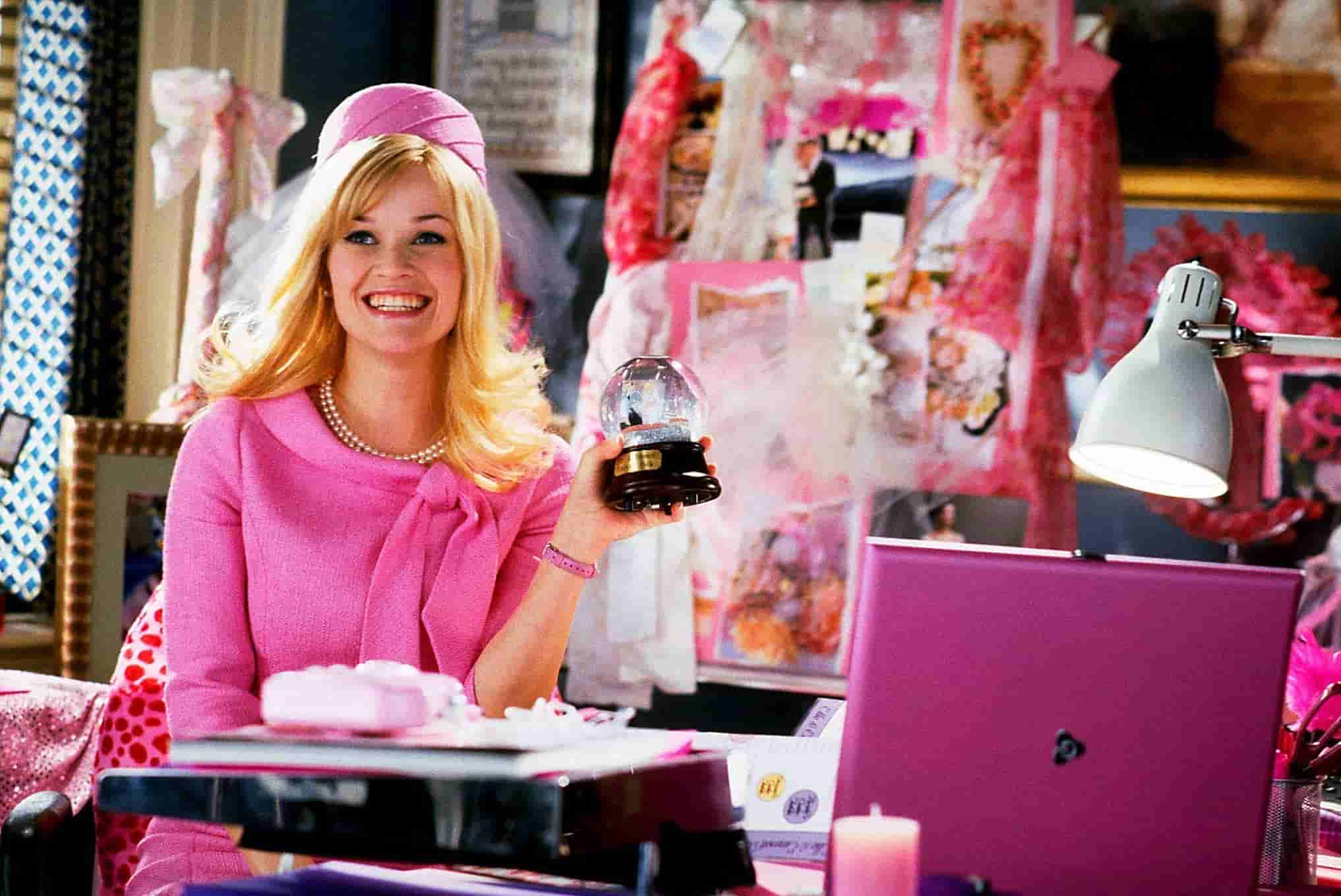 Reese Witherspoon i Legally Blonde.