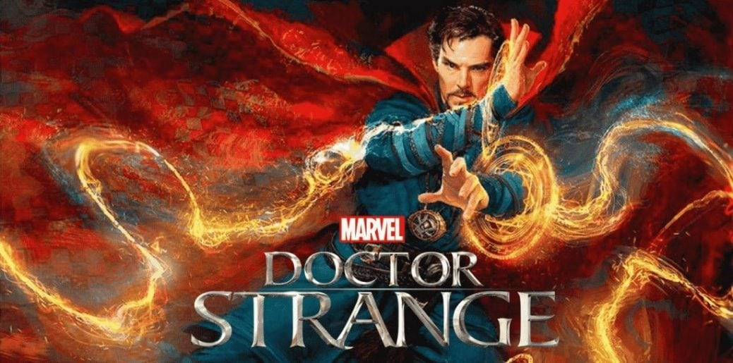 Benedict Cumberbatch som Doctor Strange.