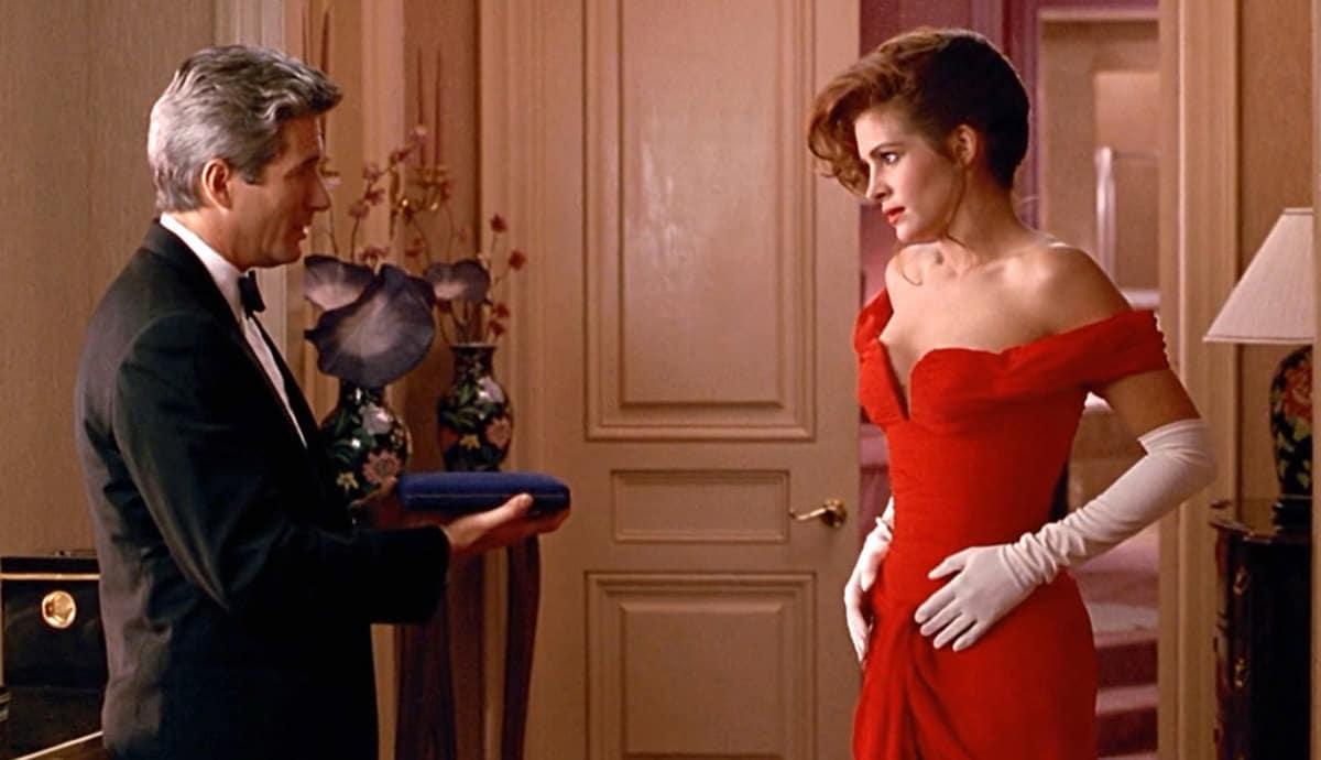 Richard Gere och Julia Roberts i Pretty Woman.
