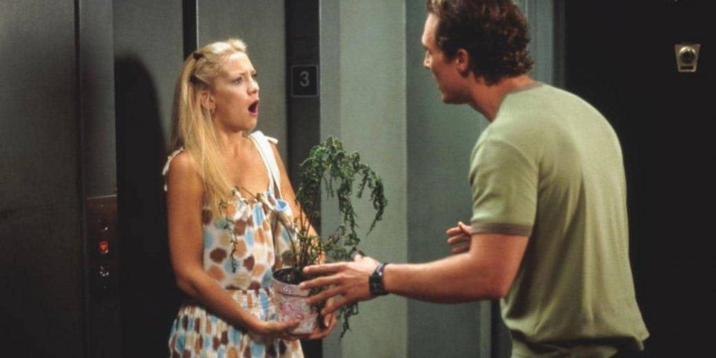 Kate Hudson och Matthew McConaugheyi Hur man blir av med en kille på 10 dagar.