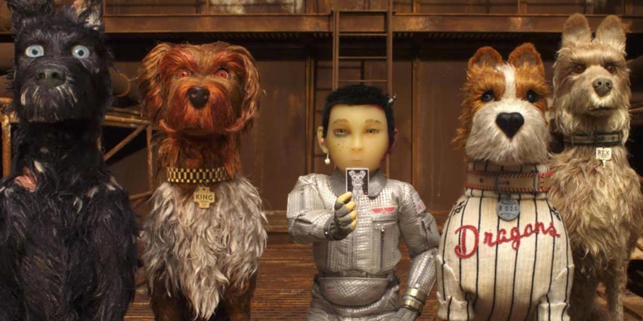 Atari och fyra hundar.