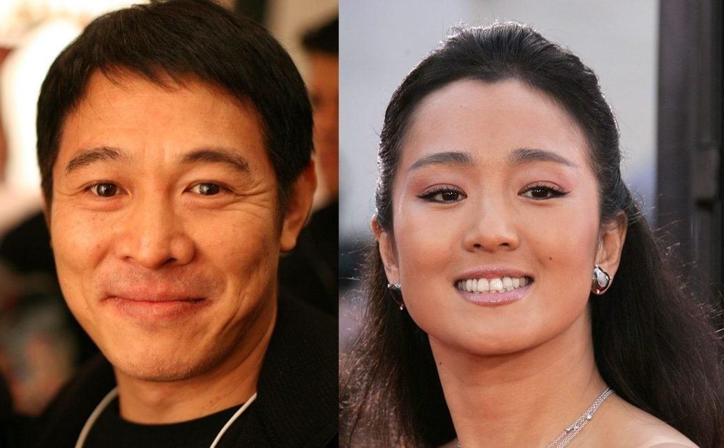 Jet Li och Gong Li.