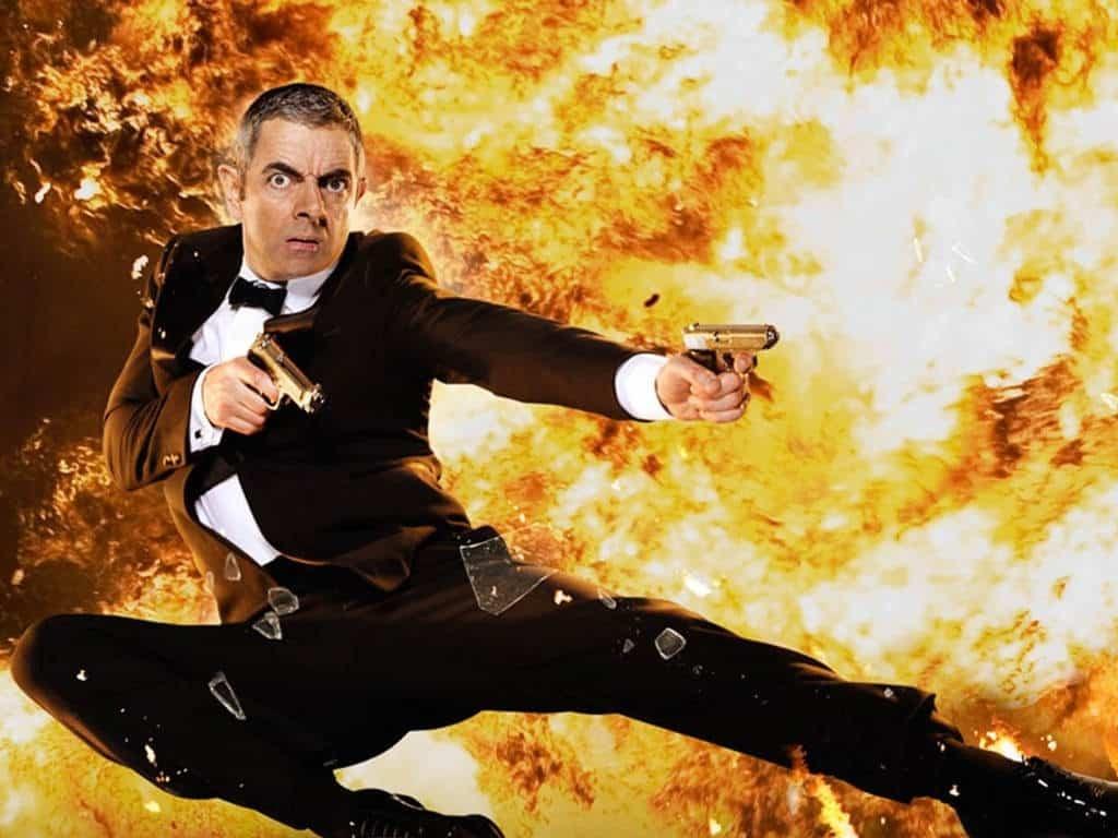 Rowan Atkinson som Johnny English.