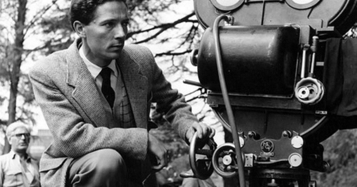 Brittiske regissören Michael Anderson.