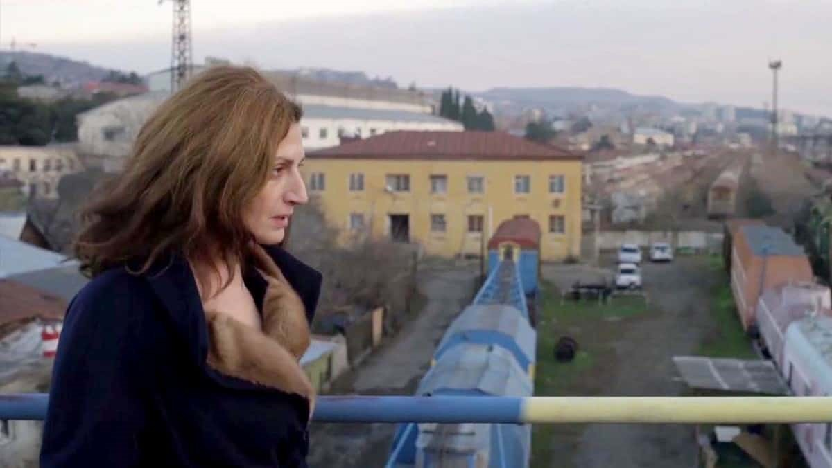 Nato Murvanidze i georgiska filmen Scary Mother.