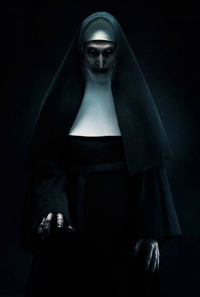 Ny otäck poster till The Nun.