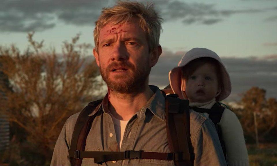 """Martin Freeman i den uppkommande zombiefilmen """"Cargo"""""""