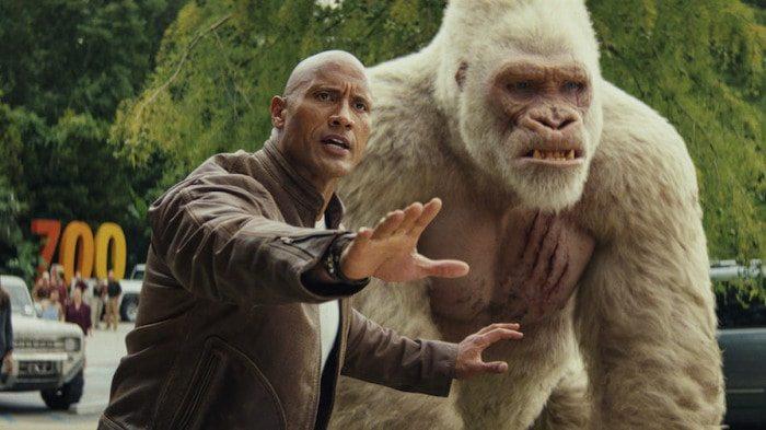 """Dwayne Johnson i Brad Peytons """"Rampage: Big Meets Bigger"""""""