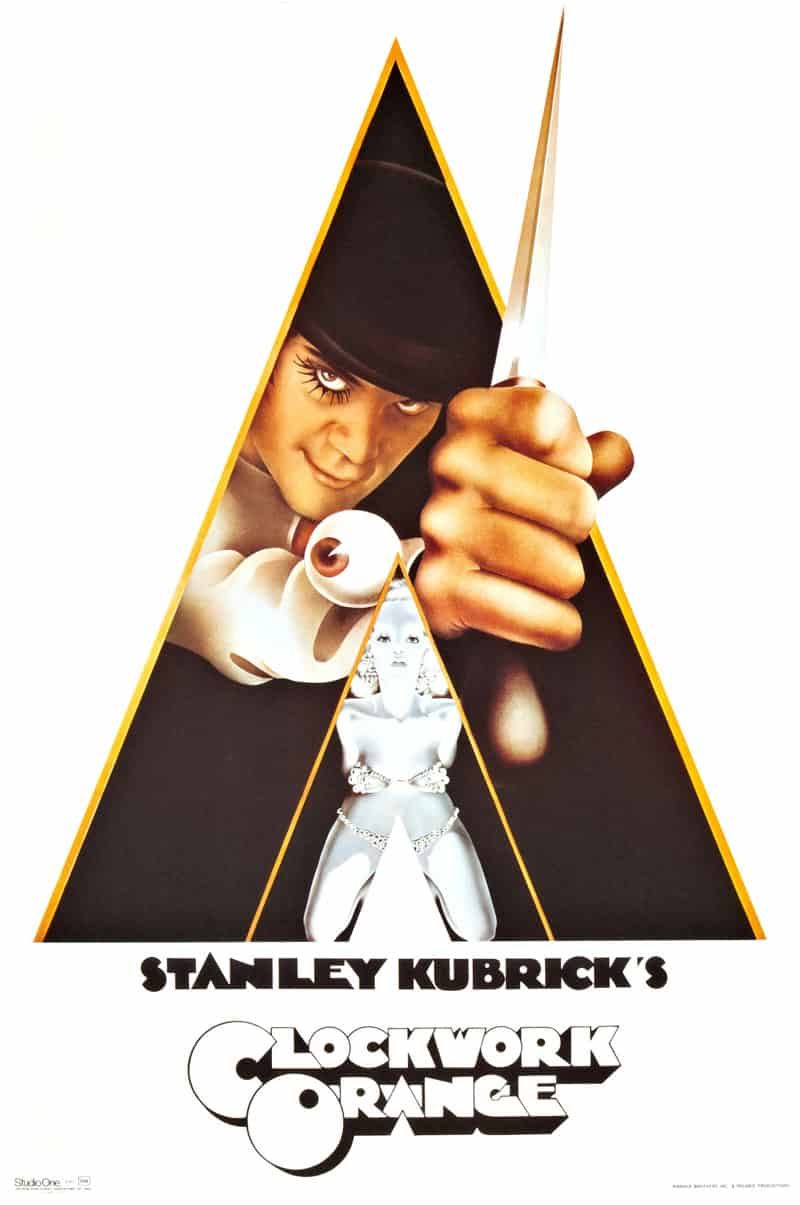 Poster till A Clockwork Orange (1971).
