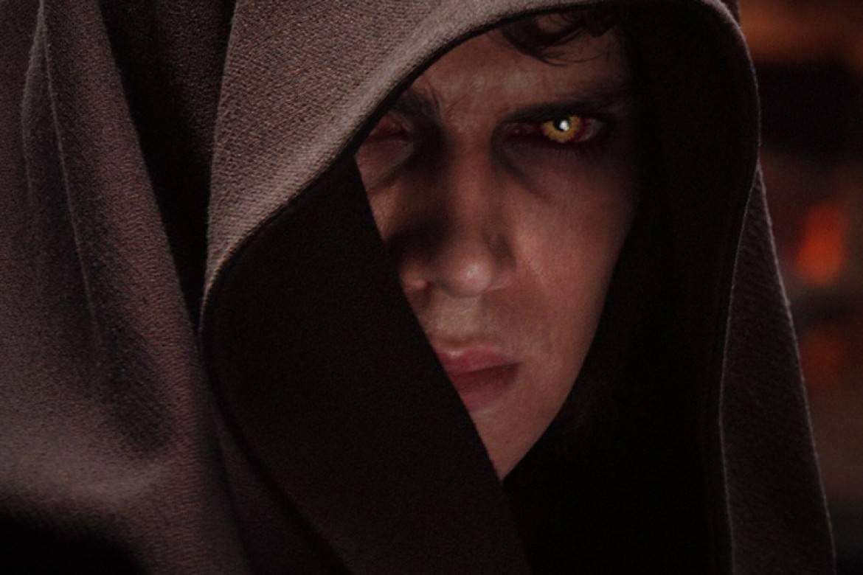 Hayden Christensen som Anakin Skywalker i Mörkrets hämnd.