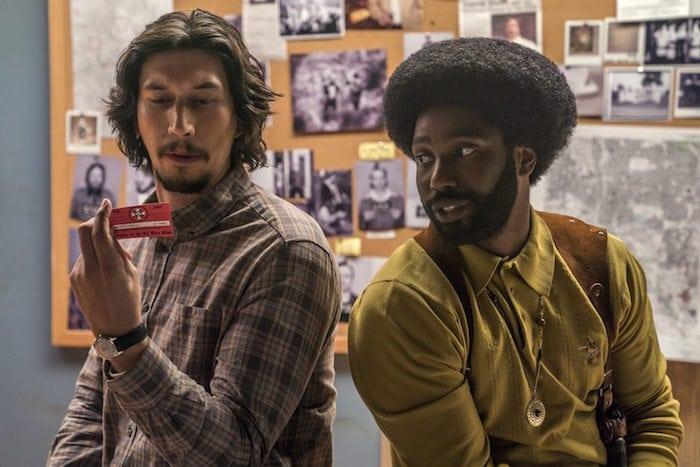 """Adam Driver och John David Washington i Spike Lees """"BlacKkKlansman"""""""