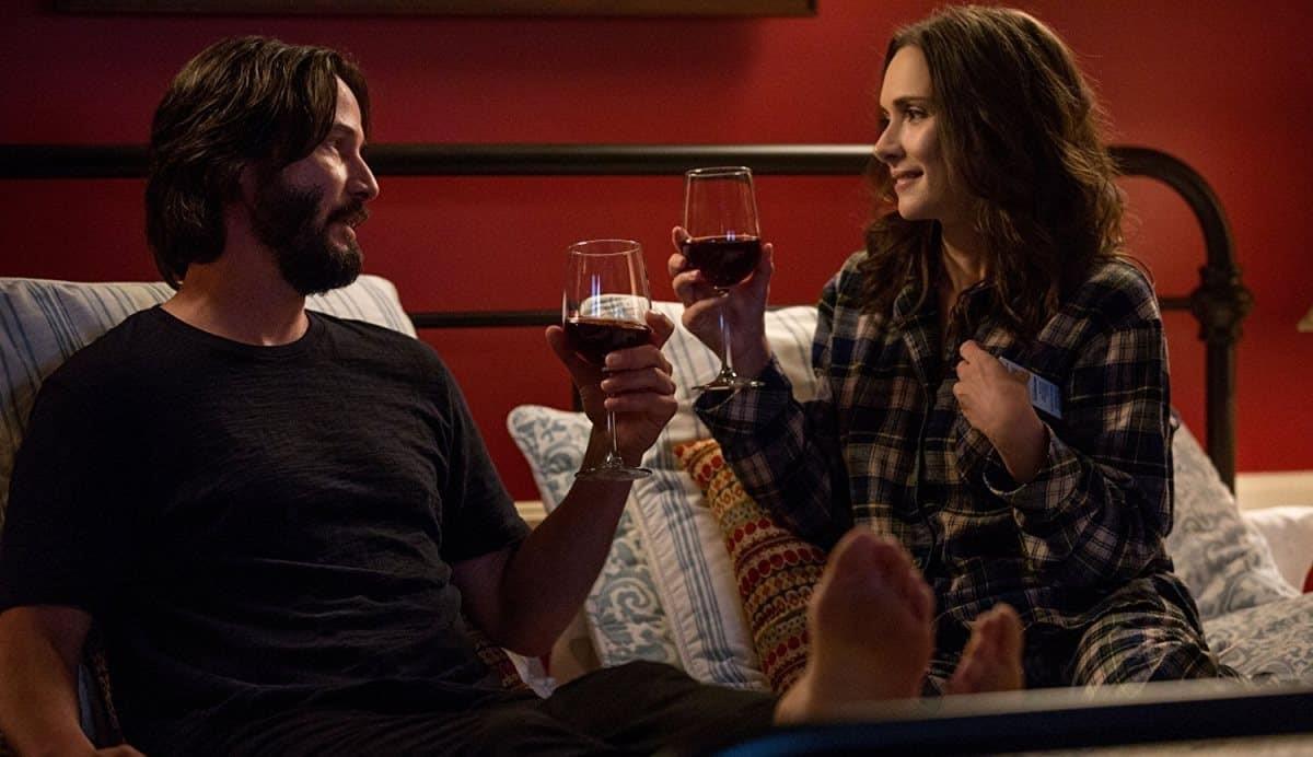 Keanu Reeves och Winona Ryder i Destination Wedding.