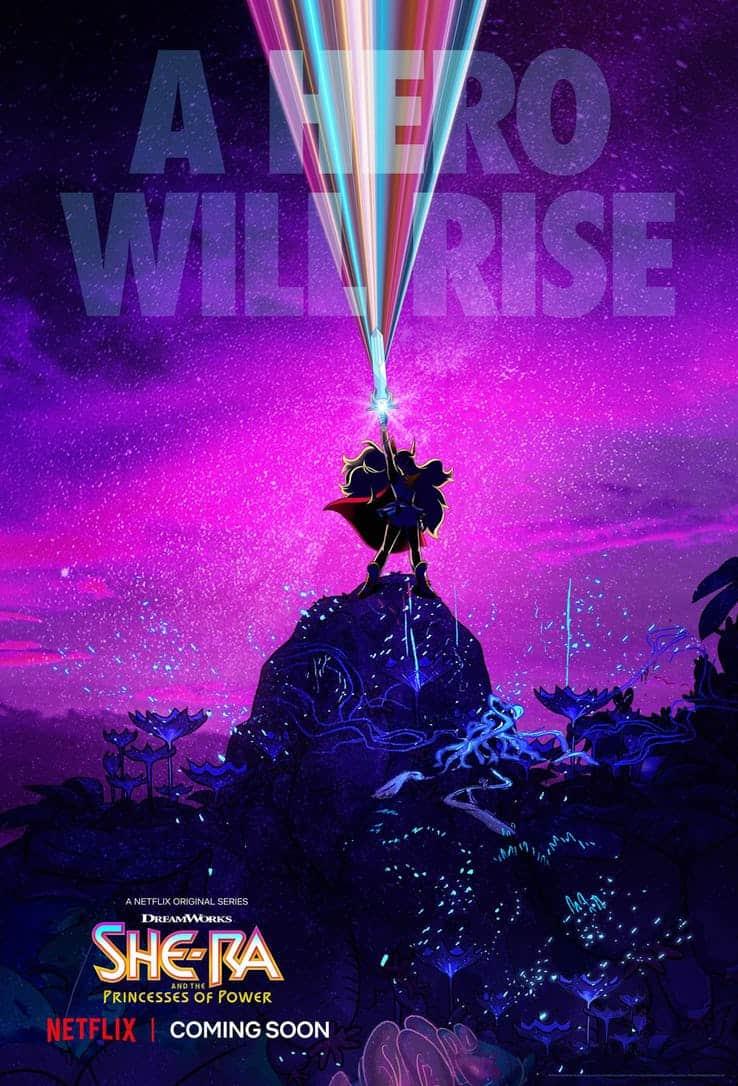 Poster till Netflix She-Ra.