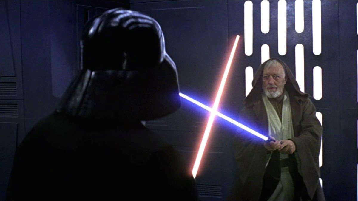 Alec Guinness i Star Wars.
