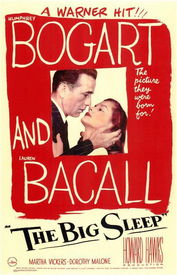 Poster till The Big Sleep (1946).