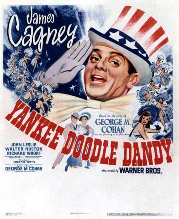 Poster till Yankee Doodle Dandy (1942).