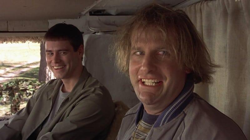 Jeff Daniels och Jim Carrey