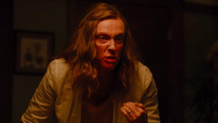 Toni Collette i Hereditary. En av årets bästa filmer.