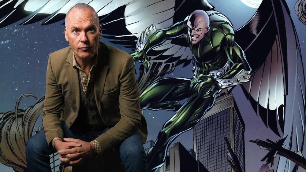 Michael Keaton och skurken Vulture.