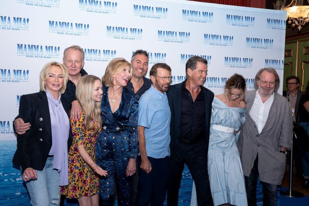 Presskonferens för Mamma Mia 2