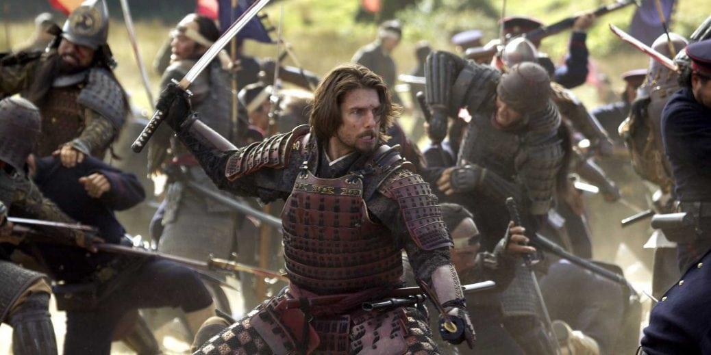 Tom Cruise i Den siste samurajen.