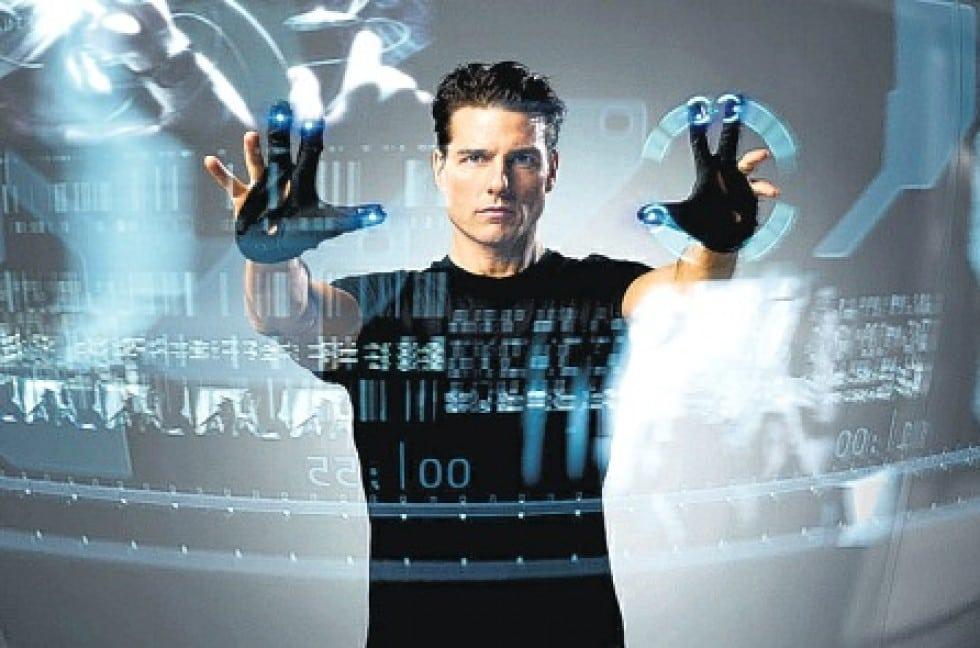 Tom Cruise i Minority Report.