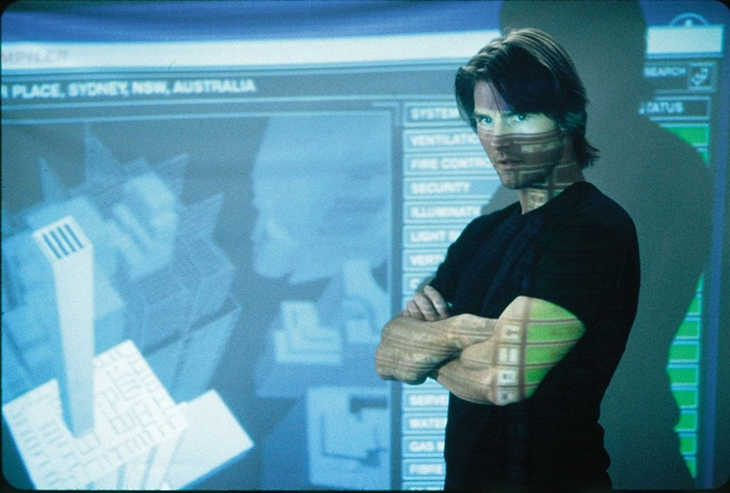Tom Cruise i Mission: Impossible II.