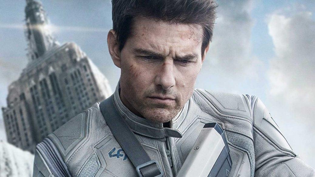 Tom Cruise i Oblivion.