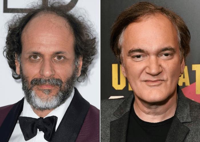 Luca Guadagnino och Quentin Tarantino