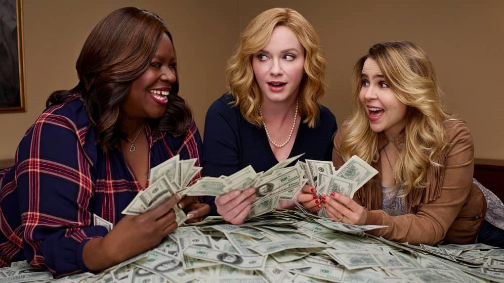 De tre huvudpersonerna i Good Girls