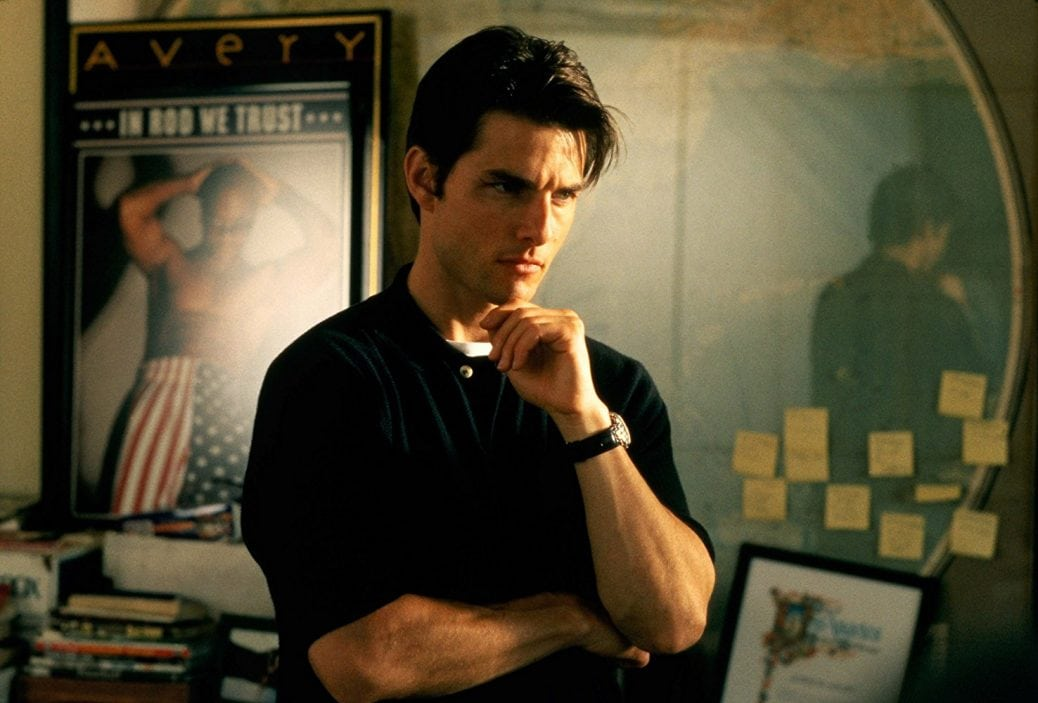 Tom Cruise i Jerry Maguire.