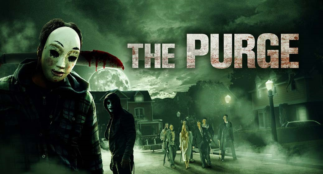 Poster till The Purge.