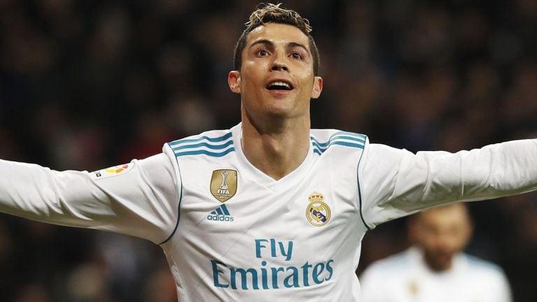 Fotbollsspelaren Cristiano Ronaldo