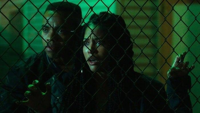 """Joivan Wade och Lex Scott Davis i """"The First Purge"""""""