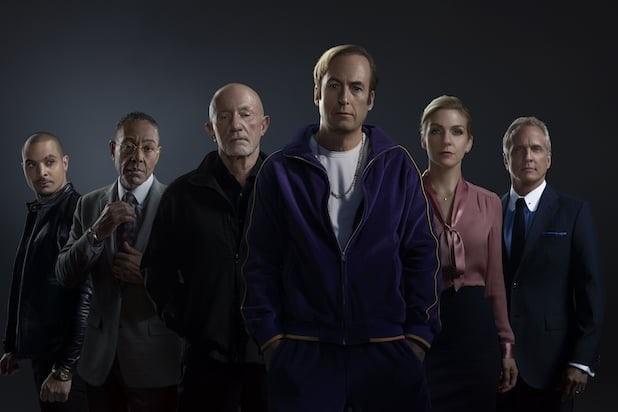 Huvudkaraktärerna i Better Call Saul