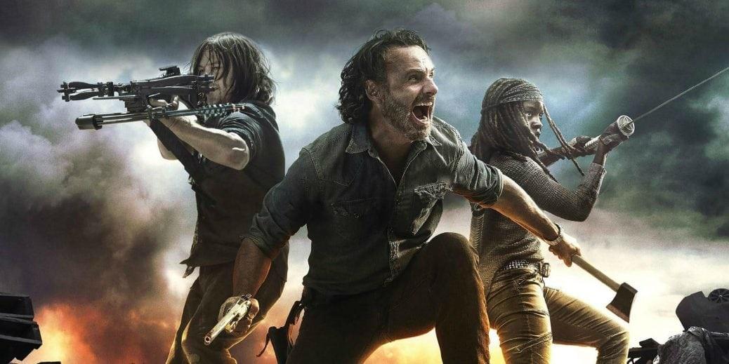 Stillbild ur The Walking Dead säsong 8.