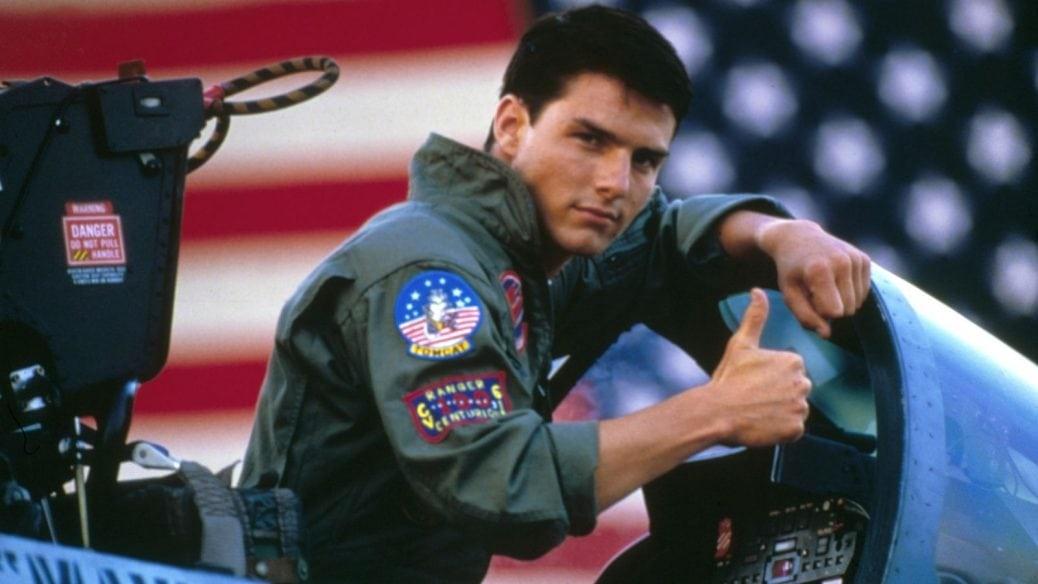 På bilden ser du Tom Cruise som Maverick