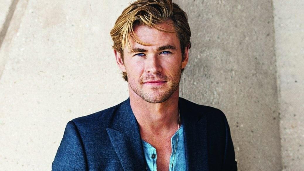 På bilden ser du Chris Hemsworth