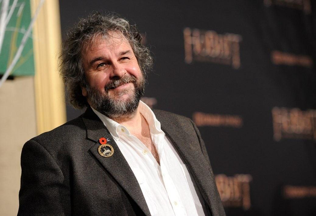Här ser du en bild på producenten Peter Jackson