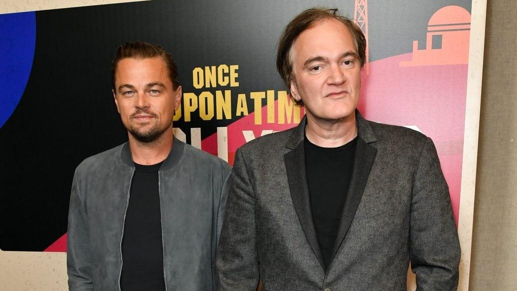 En bild på Tarantino och DiCaprio tillsammans