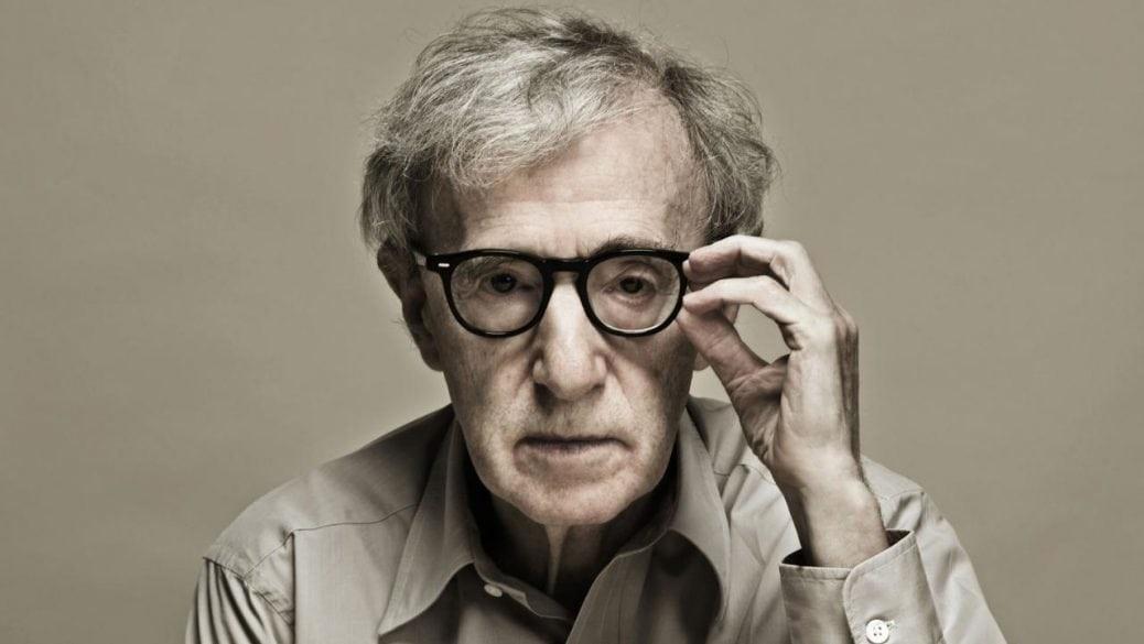På bilden ser du Woody Allen