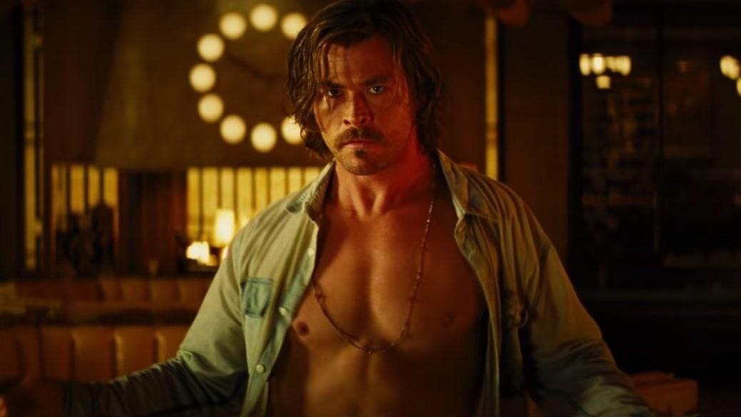 På bilden ser du skådespelaren Chris Hemsworth
