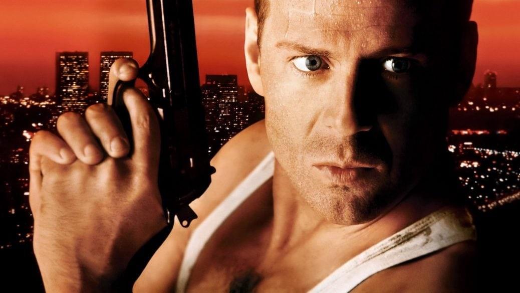 På bilden ser du John McClane