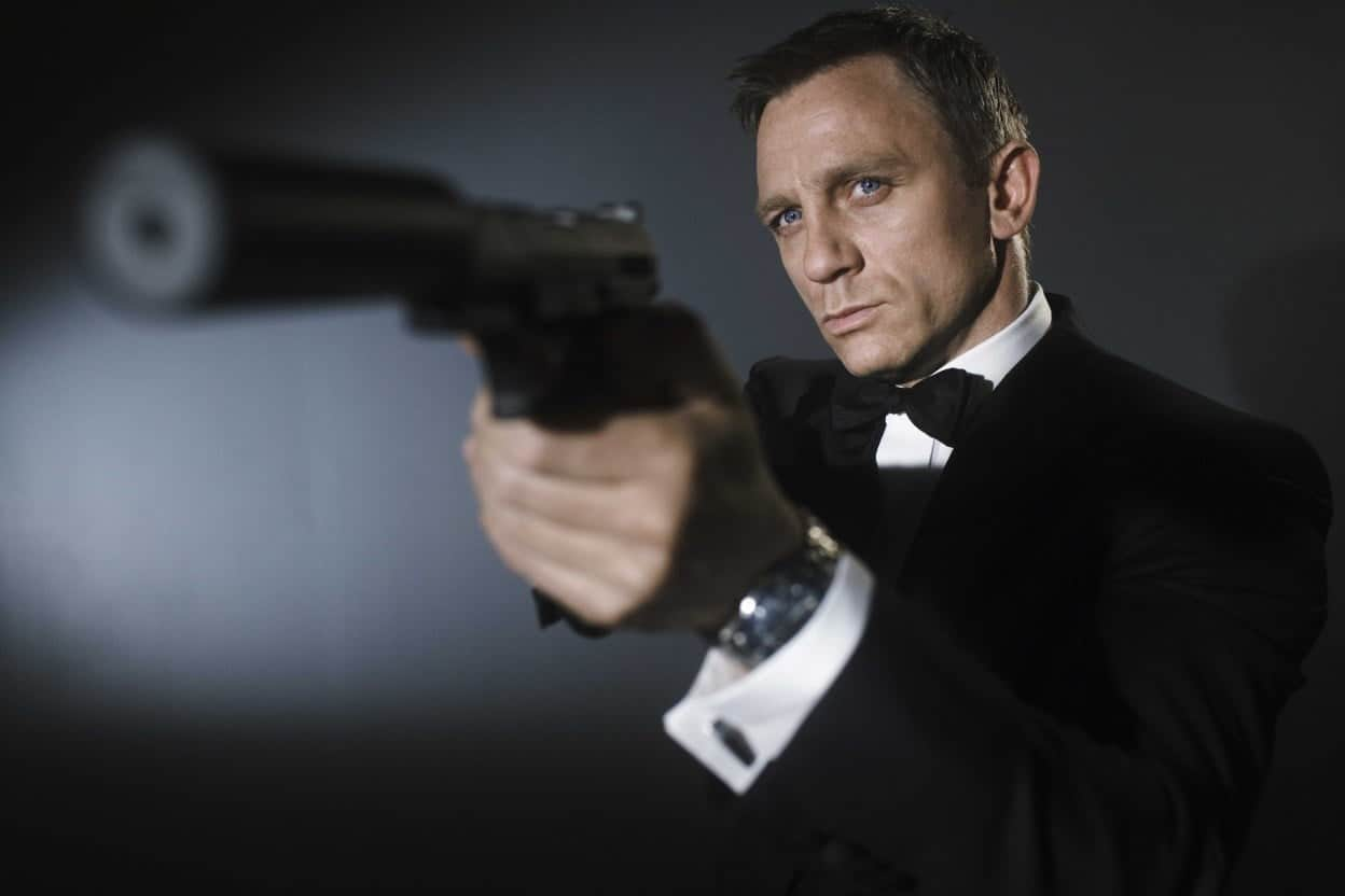 Daniel Craig som James Bond i Casino Royale.
